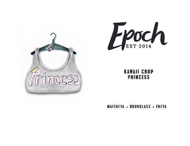 .EPOCH. kawaii crop. princess.