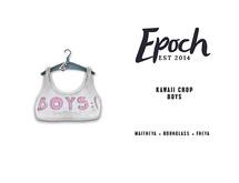 .epoch. kawaii crop. boys