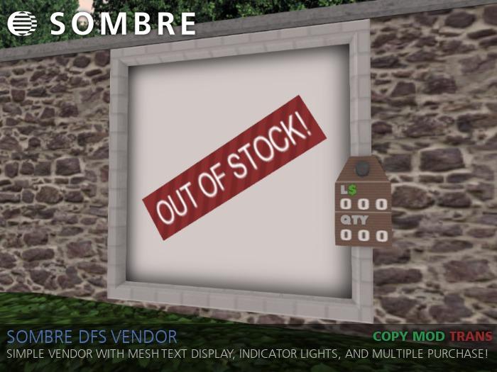 Sombre DFS / G&S Vendor