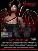 MG - Demon Wings