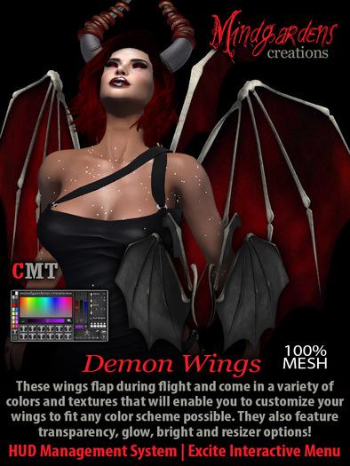 MG - Demon Wings - DEMO