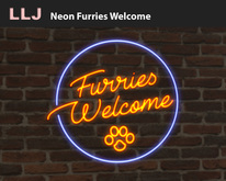 LLJ Neon Furries Welcome