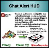 Chat Alert HUD