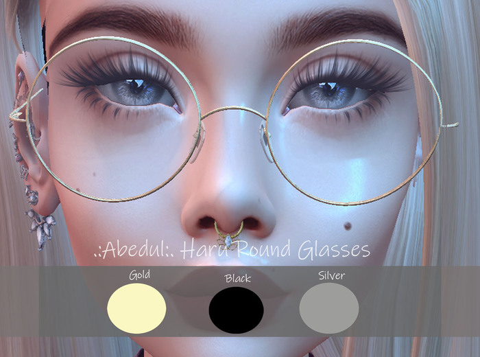 .:Abedul:. Haru Round Glasses