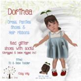 The Popcorn Tree - Dorthea Dress & Panties - TD / Bebe