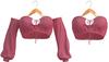 Blueberry - Iconic - Off Shoulder Tops - Pink