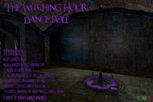 [NB] ~ The Witching Hour Dance Pole (boxed)