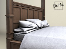 ChiMia:: Oak Four Poster Bed PG