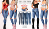 Blueberry - Elias - Denim Jeans - Fat Pack