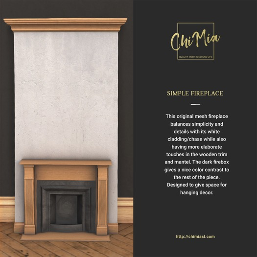 ChiMia:: Simple Fireplace