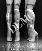 DEMO - Pure Poison - I <3 Myself Boots