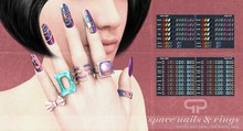 Pure Poison - Space Nails & Rings