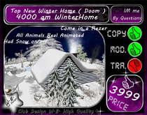 New Winter Home Dome