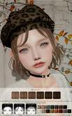 ::C'est la vie !:: Alyssa Hair [Brown] / 6 Hair colors Change / 3 Style / 15 Beret / Tint Option HUD