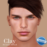 [AK Deluxe Men] - Clay Bento Head