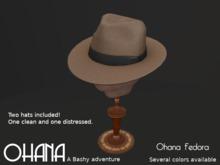 Ohana Fedora Light Taupe (WEAR TO UNPACK)