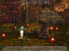 ❃Fantasy Forest Collection: AUTUMN FOREST with Seasonal PROMO: ☆•:*⚉Halloween Accessory
