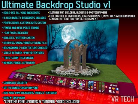 VR-TECH ULTIMATE BACKDROP STUDIO v1