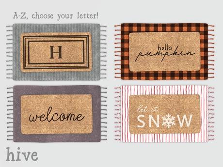 hive // layered doormats set