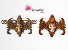 Armonia Decor [AD] Halloween Barroco Wall Sconce (Dou Central)