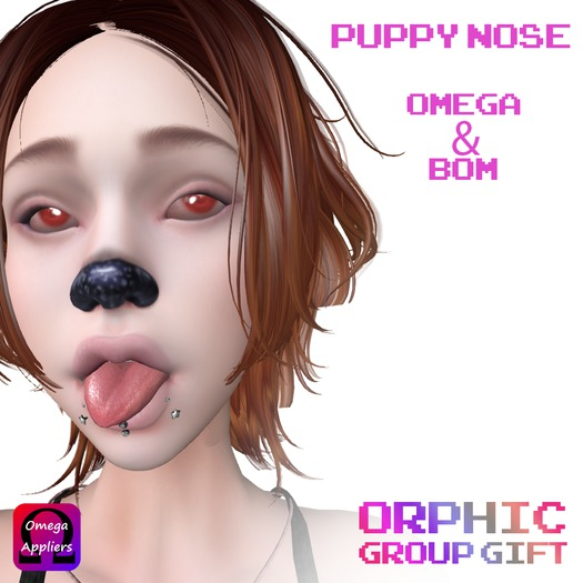 Orphic Puppy Nose Omega & BOM Group Gift