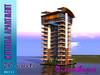 skyscraper,Condo 20 units with Top  Discotheque.