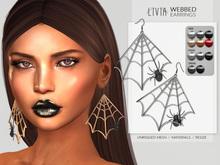LIVIA::Webbed Earrings