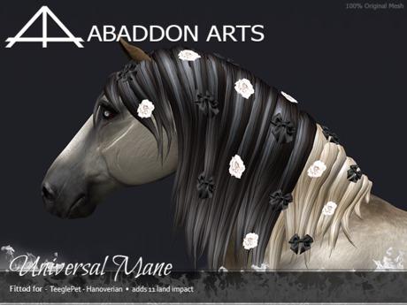 ABADDON ARTS - Universal Mane [Teeglepet HANOVERIAN]
