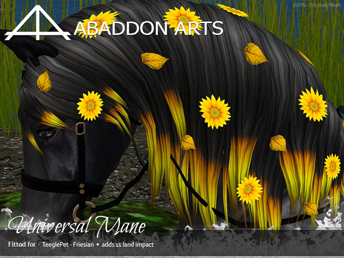 ABADDON ARTS - Universal Mane [Teeglepet FRIESIAN]