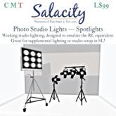 Salacity - Photo Studio Lights Spotlights