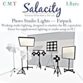 Salacity - Photo Studio Lights Fatpack