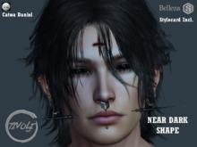- Tivoli Inc - Catwa Daniel Head Shape Near Dark + 3 Separate Body Shapes Signature Belleza Legacy
