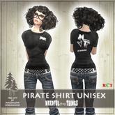 *NeedfulThings* pirate shirt unisex Punk Style
