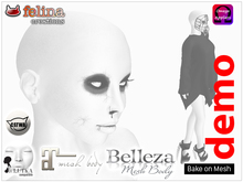 Skin - White Zombie DEMO (Maitreya, Belleza + LeLutka, Catwa, OMEGA, BoM)
