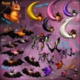 7.Yokai - Diablerie - Pumpkin caster wings (orange tones) (Box)
