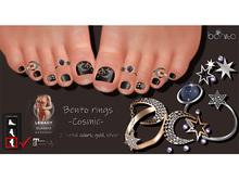 *Bonita* bento rings -cosm- (Legacy, Maitreya)