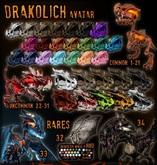 ::Static:: Drakolich Avatar VOUCHER - 31 {Tar Pit} UNCOMMON