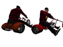 Chopper Trike - Regular AVs - WEARABLE