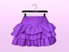 [SB] Ruffle Skirt - Maitreya - Violet