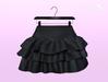[SB] Ruffle Skirt - Maitreya - Black