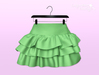 [SB] Ruffle Skirt - Maitreya - Lime