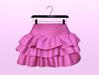 [SB] Ruffle Skirt - Maitreya - Pink