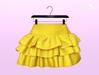 [SB] Ruffle Skirt - Maitreya - Yellow