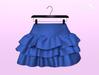 [SB] Ruffle Skirt - Maitreya - Blue