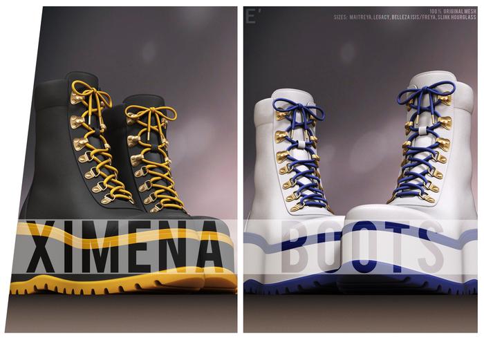 [Enchante'] - Ximena Boots - FATPACK HUD