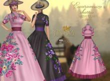 :: ANTAYA :: Mesh pink gown <Escaramuza charra>