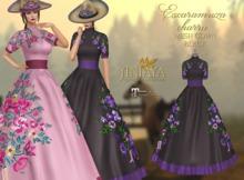 :: ANTAYA :: Mesh black gown <Escaramuza charra>
