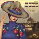 :: ANTAYA :: Sombrero <Escaramuza charra>