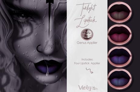 Violybee. Twilight Lipstick (Genus Applier)