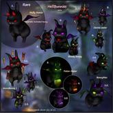 7.Yokai - HellBunnies GACHA - Bloody bunny (toxic)